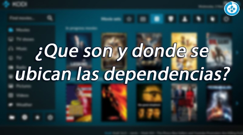 dependencias de kodi