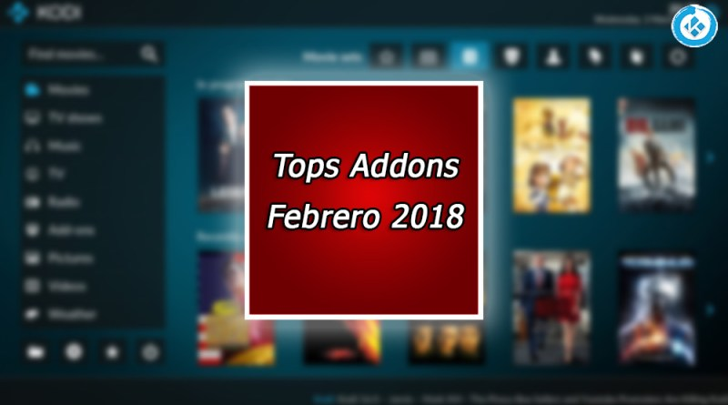 mejores addons en kodi febrero 2018