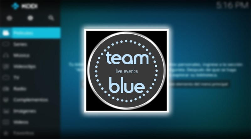 addon teamblue live events en kodi