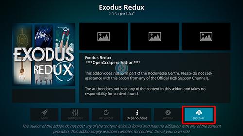 addon exodus redux en kodi