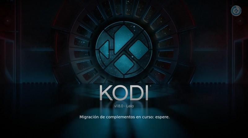 actualizar de Kodi 17 a Kodi 18