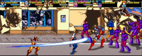 Resultado de imagen para X-Men Arcade