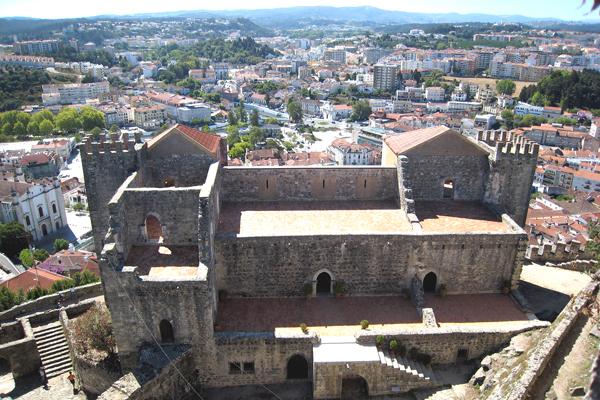 Castelo de Leiria, Portugal. Foto: Hugo Cadavez