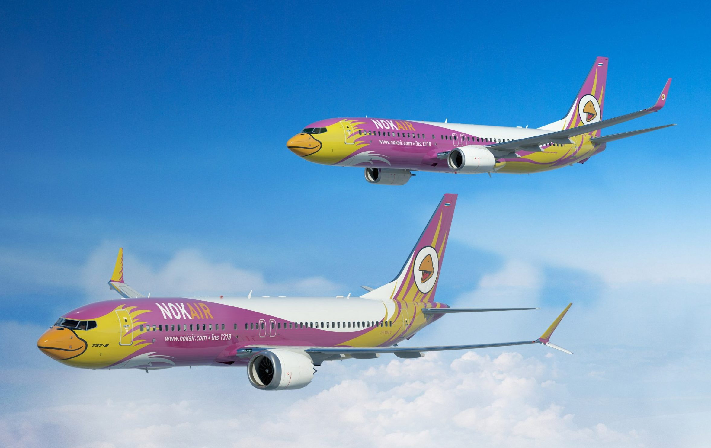 Volar con Nok Air – Low Cost en Asia