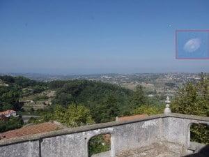 Disco en forma de OVNI en Sintra en Portugal