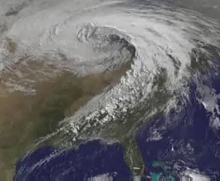 Supertormenta en California, 2011, Desastres Naturales