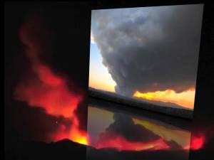 Vídeo del incendio de Las Conchas, Condado de Los Álamos – 26 de junio 2011