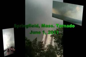 Springfield, MA Tornado tomado (varias vistas) – 01 de junio 2011