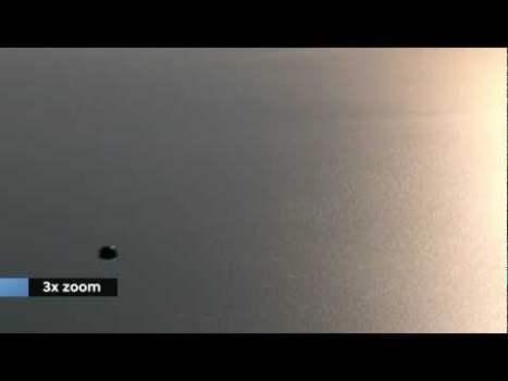 OVNI sobre el mar 'Wadden', los Países Bajos, 2011