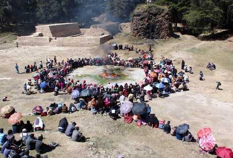 Indígenas reciben Año Nuevo maya