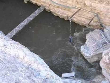 Increíble vídeo del Devil's Hole sacudido por un terremoto en Oaxaca, México, marzo 2012