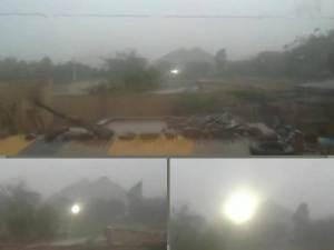 Extrañas luces filmadas en Bolivia, 25 de junio 2012