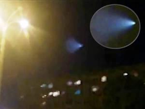 Misterioso OVNI o misil sobre Ashgabat, Turkmenistán – 06 de octubre 2012