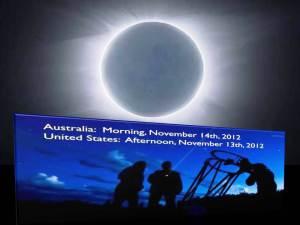 Eclipse Total de Sol en Australia el 14 de noviembre 2012