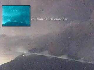 OVNI gigante Rod o Skyfish captado en la cámara cercana al volcán Sakurajima – agosto, 2013