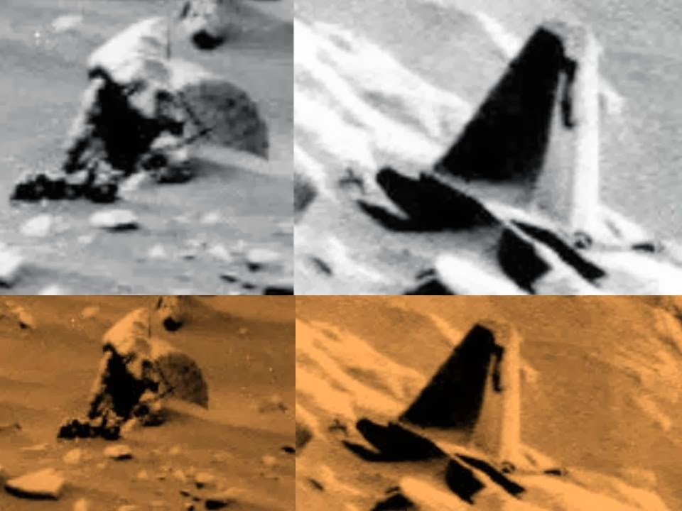 ¿Objetos artificiales en Marte?
