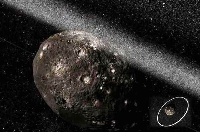 Asteroide con Dos Anillos