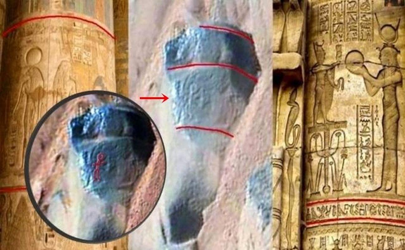 ¿Petroglifo grabado en la roca marciana fotografiado por la Curiosity?