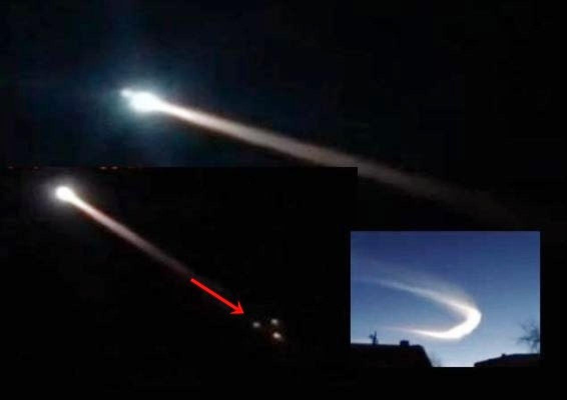 Meteoro explota sobre la región Rusa de Amur