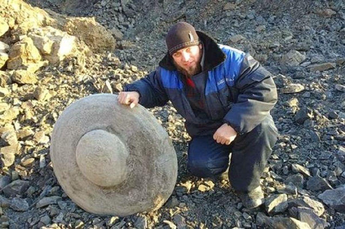 Mineros desentierran disco antiguo en Siberia