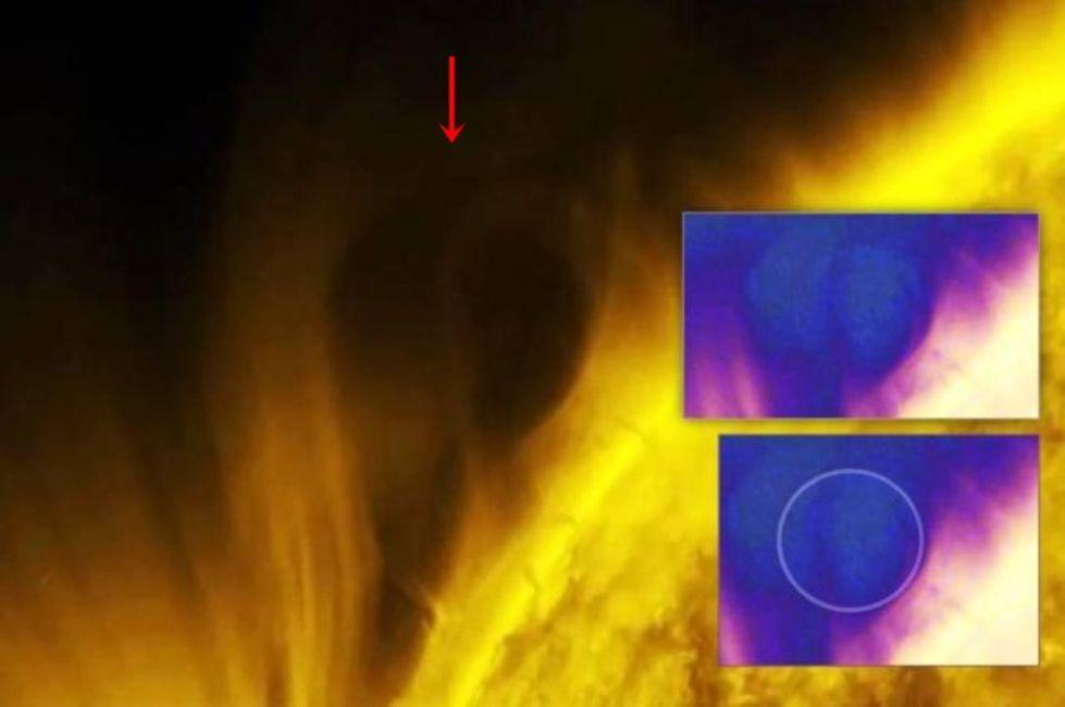 Objeto del tamaño de un planeta cerca del Sol