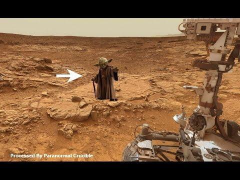 ¿Maestro Jedi en Marte?