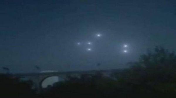 OVNIS sobre Manchester en Inglaterra cada quince días