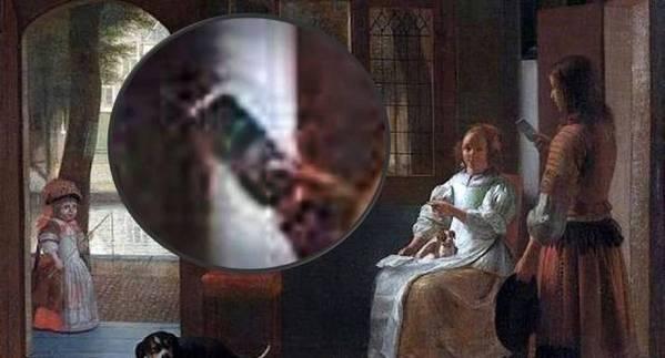 CEO de Apple sorprendido al ver iPhone en pintura de 350 años
