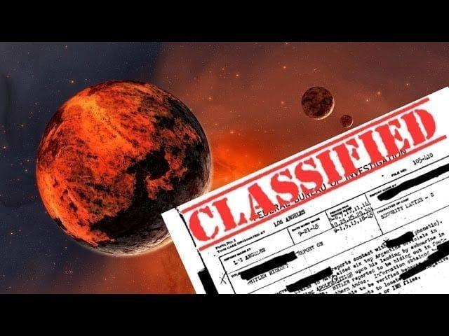 ¿Quién huyó de Marte tras el paso del Planeta X?