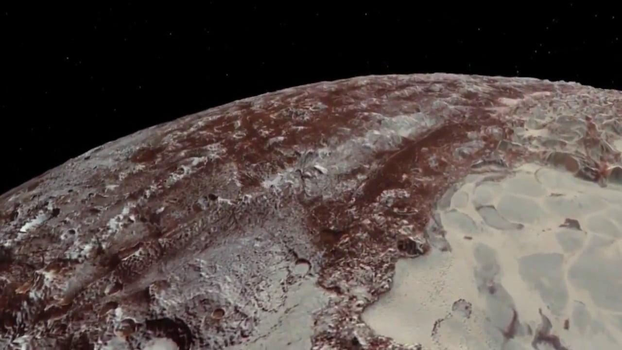 Vídeo definitivo del sobrevuelo de Plutón y Caronte