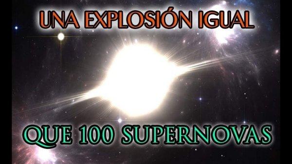 Una Inmensa Explosión Acaba de Suceder en el Universo y Nadie Sabe qué es