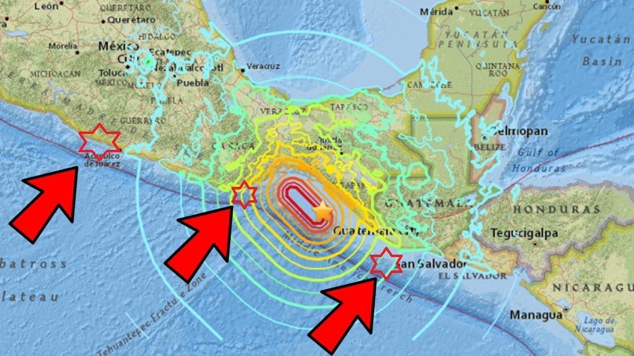 Una Placa Tectónica se Partió en México: Advierten que Habrá Más Terremotos y Tsunamis
