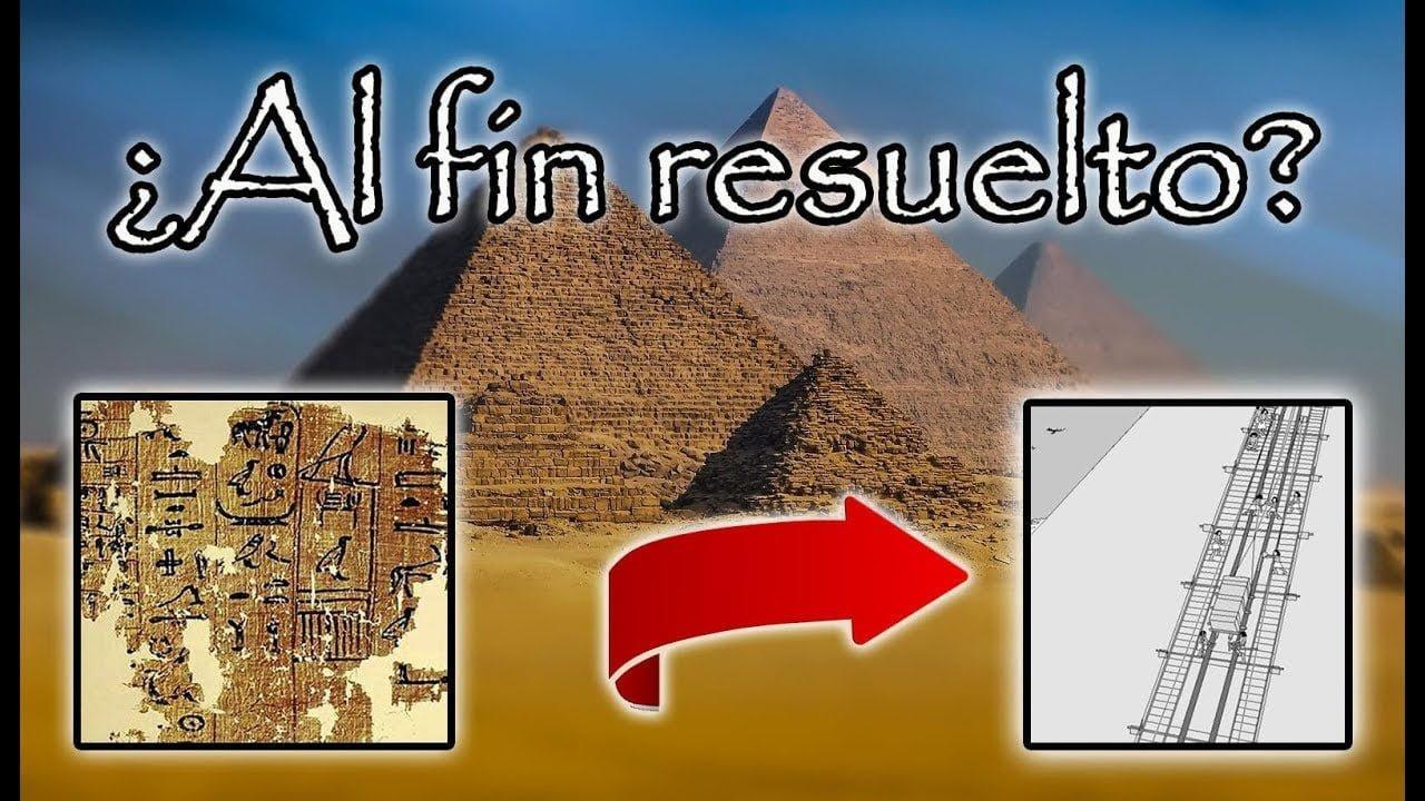¿Han descubierto como construyeron las pirámides de Egipto realmente?