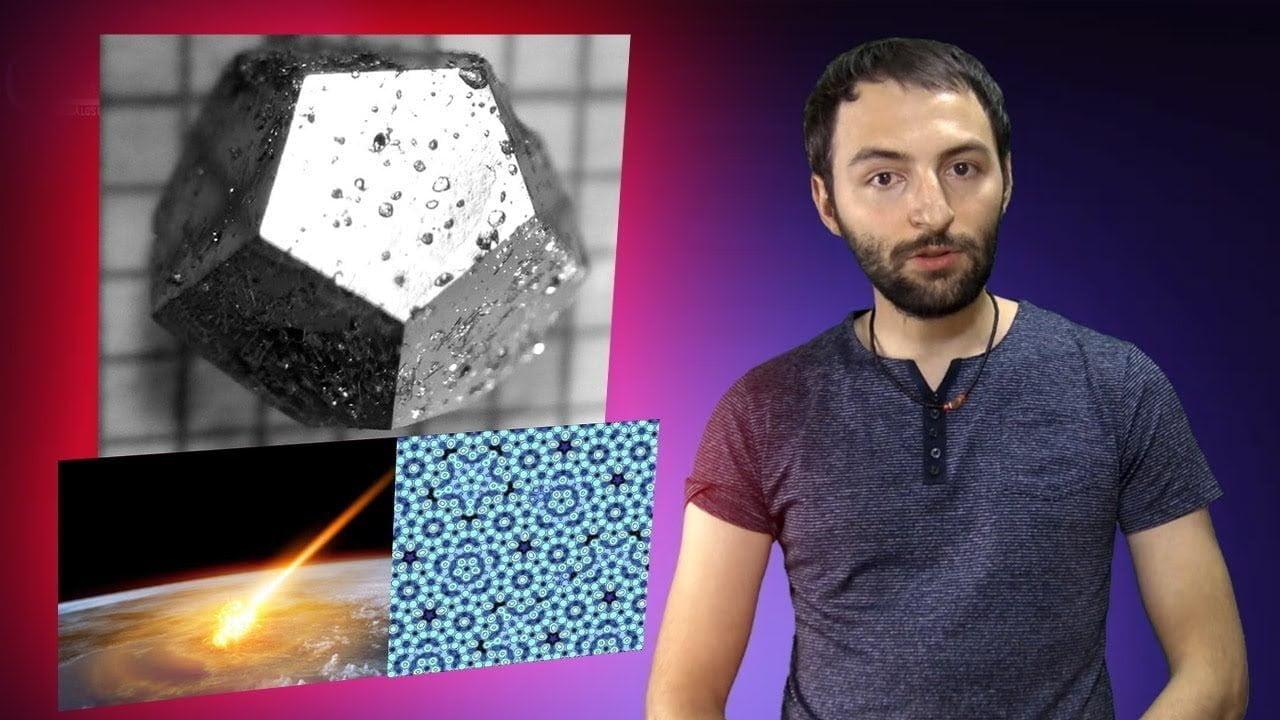 El meteorito que trajo a la tierra el material más RARO del mundo – El Cuasicristal