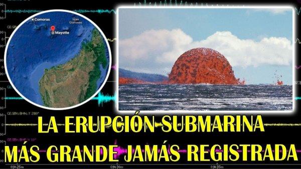 Onda Sísmica Mundial Revela la Erupción Submarina Más GRANDE Jamás Registrada