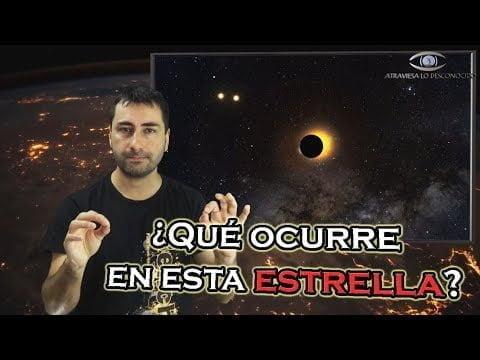 Astrónomos Desconcertados Ante la Estrella Más Extraña Jamás Vista