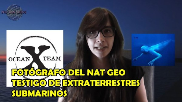 FOTÓGRAFO DEL NAT GEO TESTIGO DE EXTRATERRESTRES SUBMARINOS