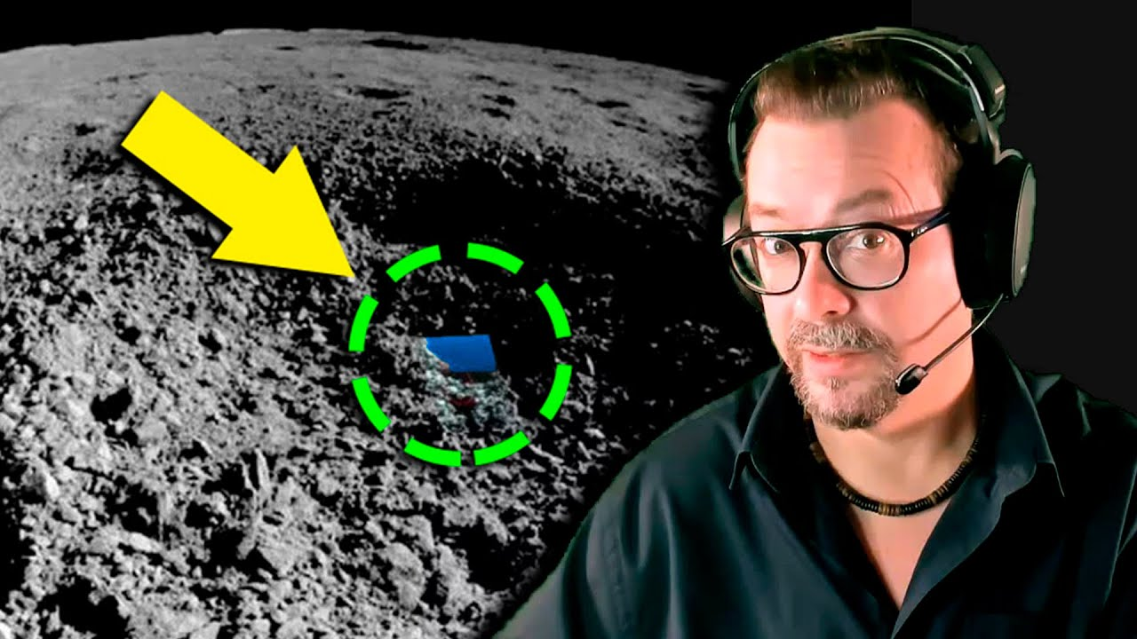 ¿Qué ha encontrado el Robot Chino en cara Oculta de la Luna?