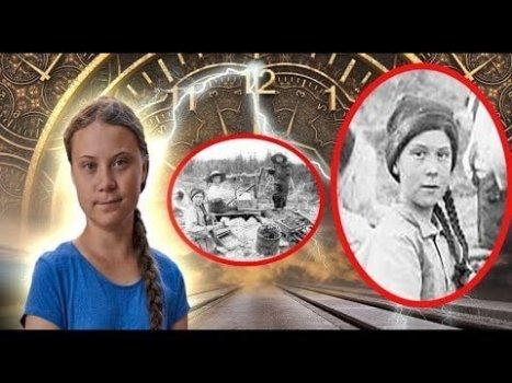 Greta Thunberg el nuevo VIAJERO DEL TIEMPO Una Foto de 1898 lo Demuestra