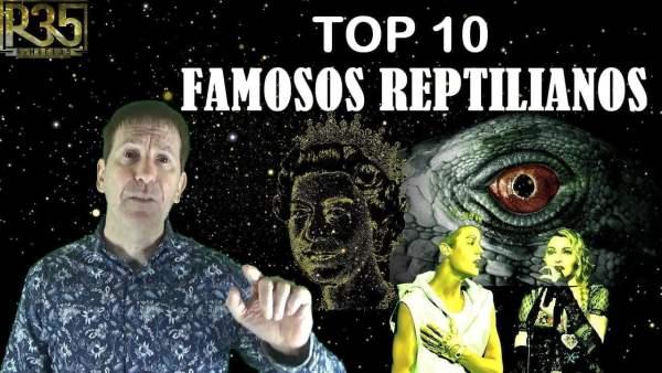 TOP 10: FAMOSOS QUE SON REPTILIANOS