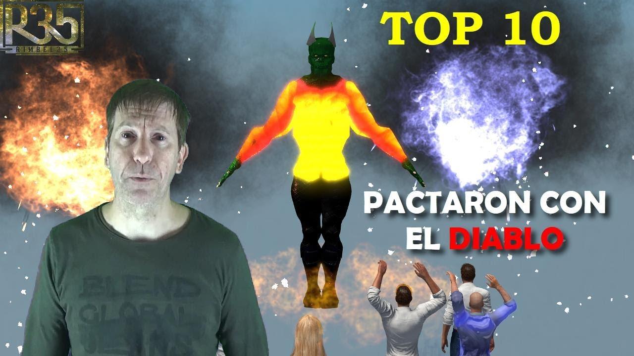 TOP 10: FAMOSOS QUE VENDIERON EL ALMA AL DIABLO