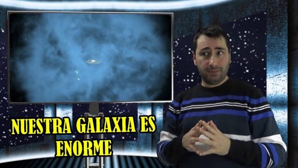 La Vía Láctea es Más GRANDE de lo que se Pensaba y el Cometa Borisov Está Explotando