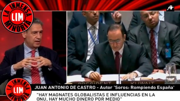 Juan Antonio de Castro: 'Hay magnates globalistas en la ONU'