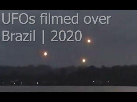 OVNIs / Orbes sobre Oiapoque, Brasil 20-abr-2020