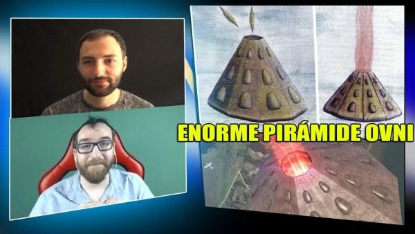 Apareció una ENORME PIRÁMIDE OVNI en los cielos de Brasil – Análisis con Vicente Fuentes