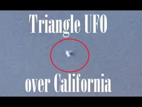 OVNI triangular flotando sobre Tustin, California 15-jun-2020