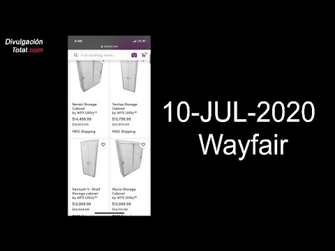 10-JUL-2020 Wayfair