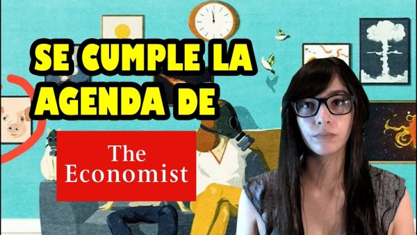 THE ECONOMIST CUMPLE LA AGENDA –