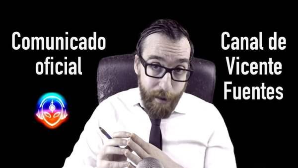 Comunicado Oficial de Vicente Fuentes