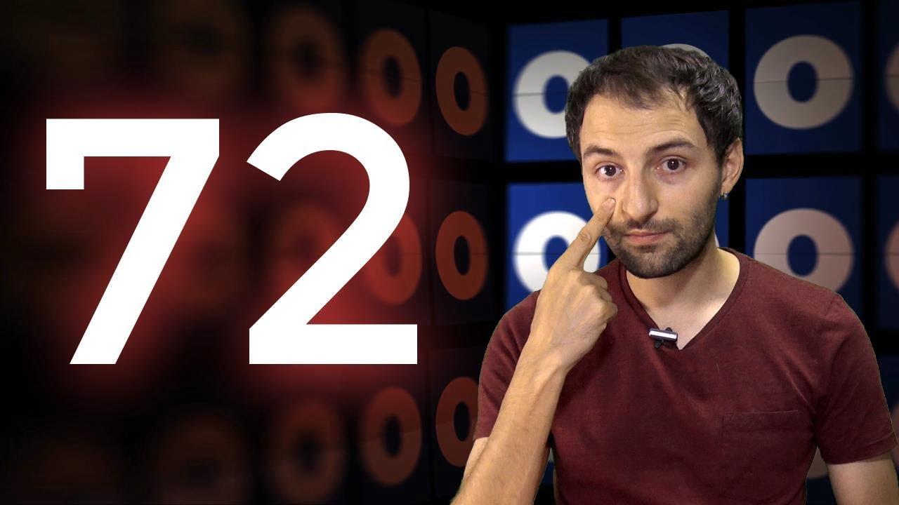 El Enigma del número 72